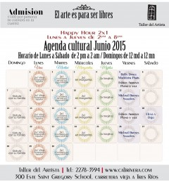 agenda junio web